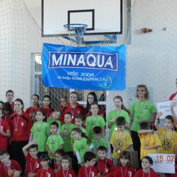 MINAQUA CUP – takmičenje školica tenisa u Novom Sadu