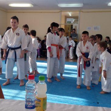 Minaqua na novogodišnjem turniru u karateu