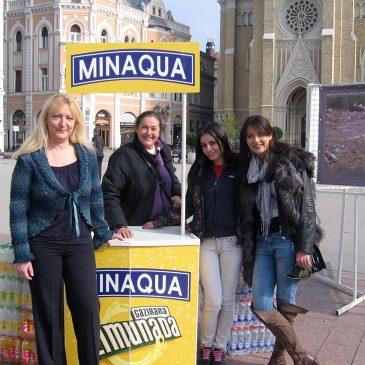 Mesec borbe protiv raka – javna manifestacija na Trgu Slobode uz podršku Minakve