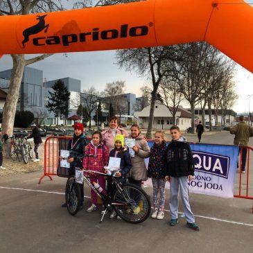 Invictabike-Capriolo biciklistička promo trka školaraca