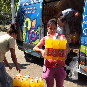 Humanitarna pomoć kompanije MINAQUA