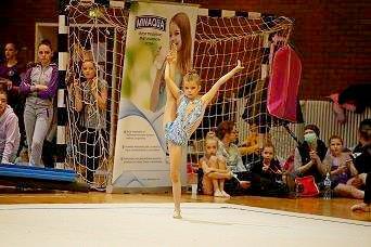 MINAQUA uz mlade gimnastičarke