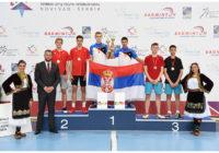 Serbian U17 International Novi Sad 2018_Osvajaci medalaj u muskom dublu
