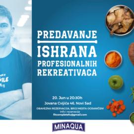 Zdrava ishrana i Minaqua