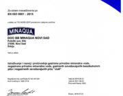 9001-2015 sertifikat